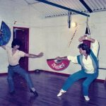 Dave training with his long time Wing Chun Master Joseph Cheng
