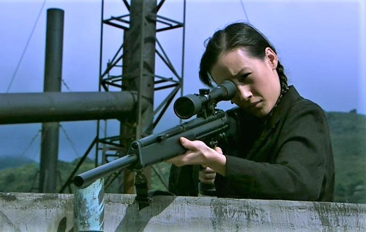 Maggie Q shines as a deadly assassin
