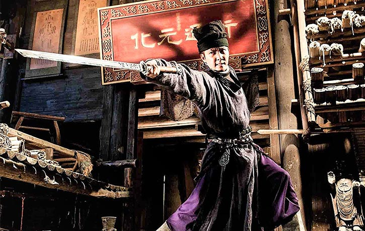 There are some cool kung fu moves beautifully captured in slo-mo