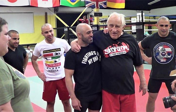 Gene after class at Hayastan MMA