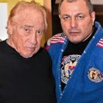 Gene with fellow grappling champ, Master Gokor Chivichyan