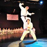 Karate demo back in Israel