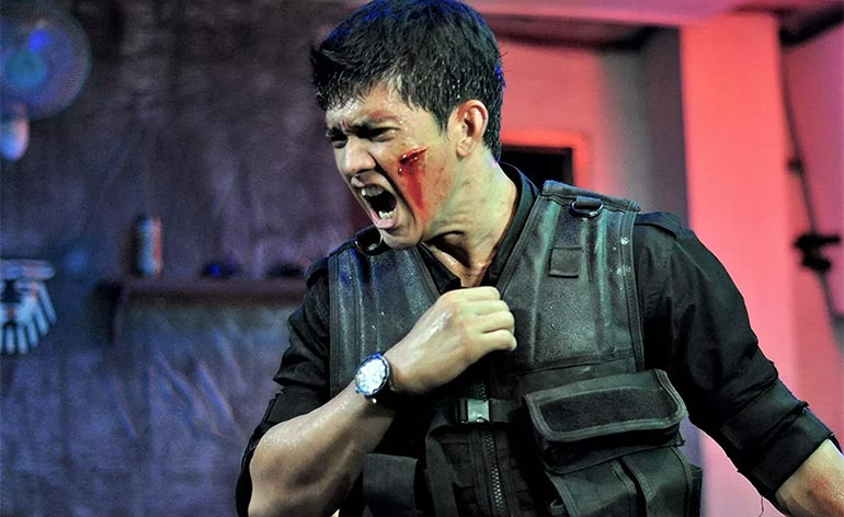 Iko Uwais in Netflix's Wu Assassins - Kung Fu Kingdom