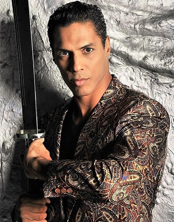 Taimak's skills in weapons combat are superb