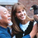 Fumio worked on The Next Karate Kid starring Hilary Swank