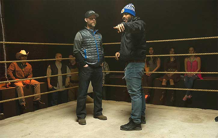 Clayton and director Ryan Coogler go through the climactic fight of Creed