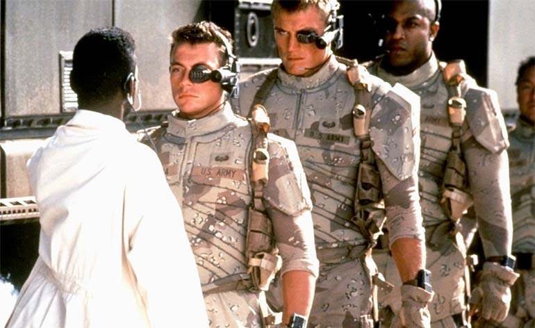 """Re-imagining of """"Universal Soldier"""" in the works!"""