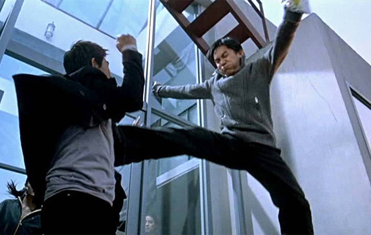 Lin leaps in to take down Owen
