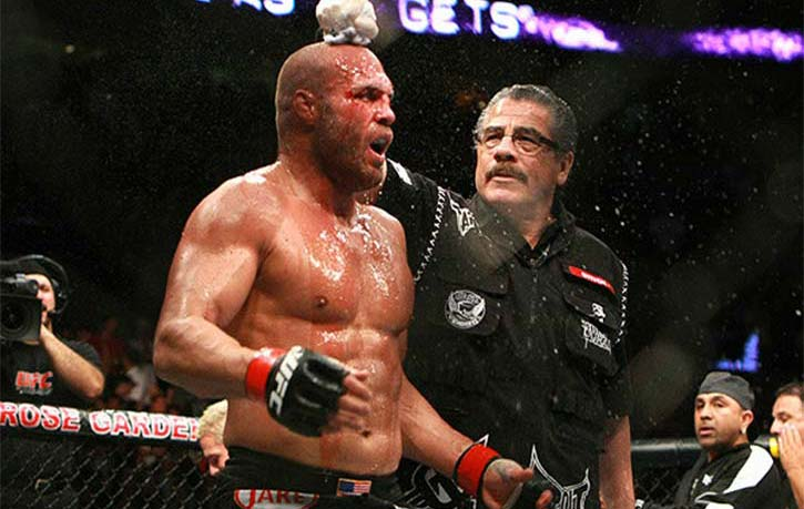 Stitch cools off Randy Couture for the next round