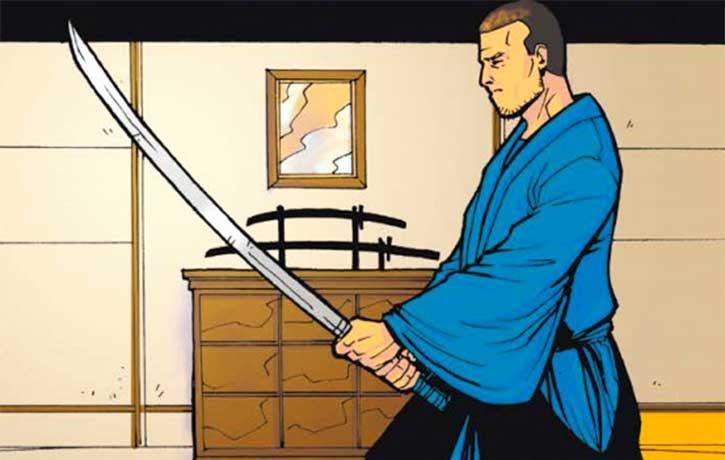 Ben Iwanaga - The Last Samurai