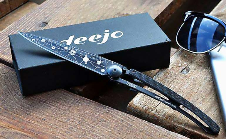 Deejo - Customized Pocket Knife - review -Kung Fu Kingdom