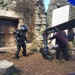 Preparing the film's big action sequence with Black Manta