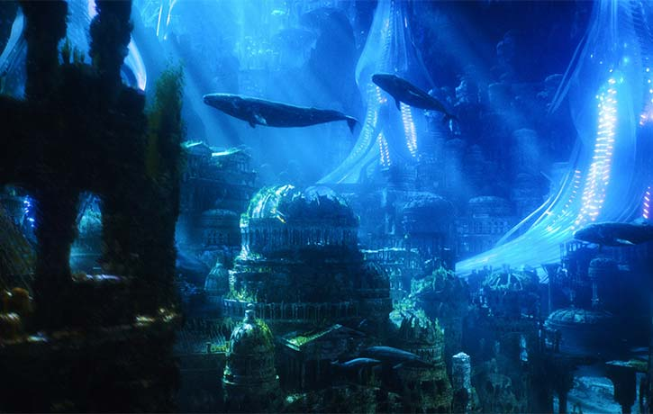 Under the depths of the ocean lies the Kingdom of Atlantis