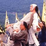 Yuen Biao gets carried away as Leung Foon