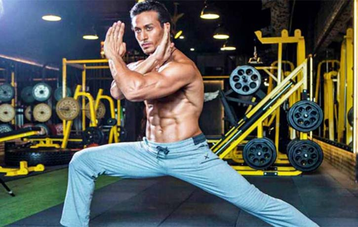 Tiger Shroff in training for Baaghi 2