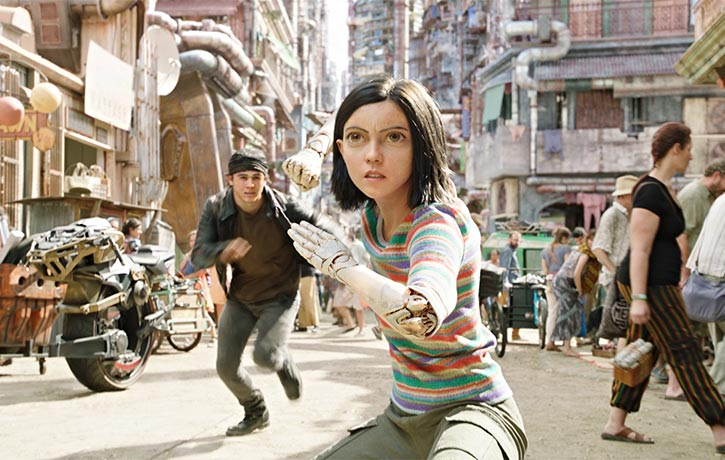 Alita stands her ground!