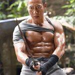 Bruce got into incredible shape for Revenger!