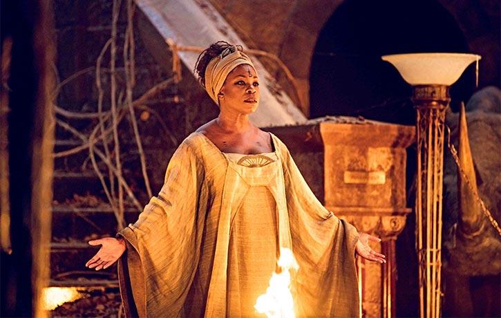 Cressida is Pilgrim's loyal high priestess