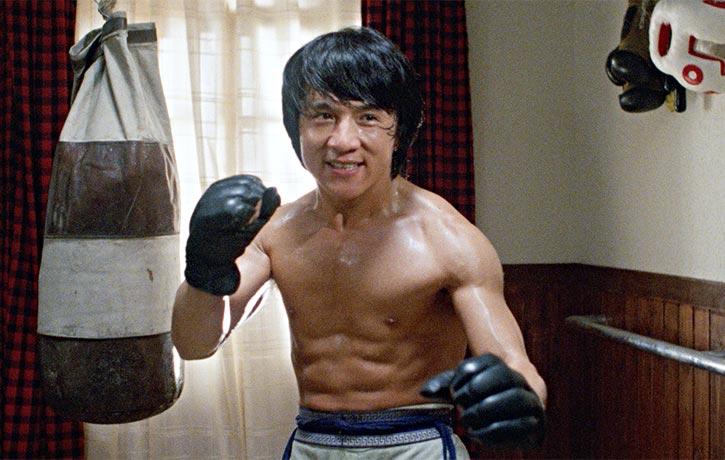 Jackie Chan stars as Thomas