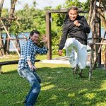 Jesse and Tony Jaa bring on the moves!