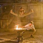 Tony and Jesse Johnson go through an action scene