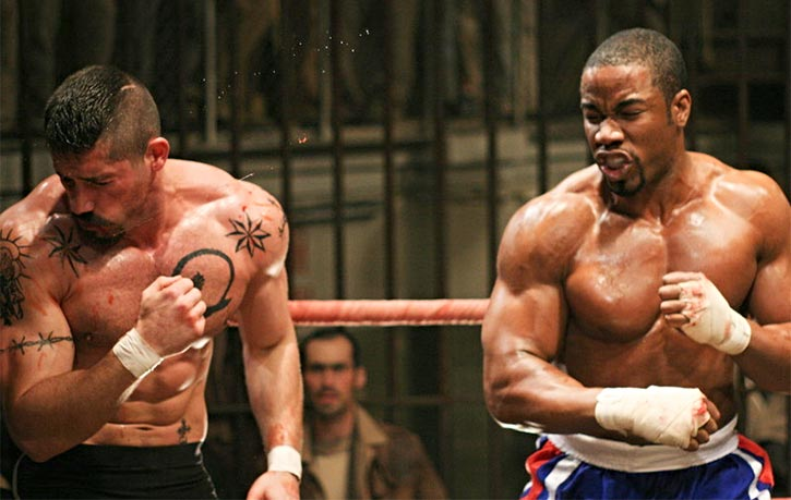 Before Triple Threat, Michael Jai White and Scott Adkins were on opposing sides in 2006's Undisputed 2!