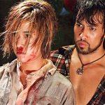 Jeeja with Kazu Patrick Tang in a tense scene on Raging Phoenix