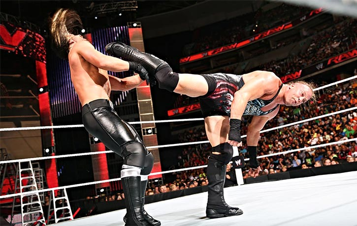 RVD's legendary kicks in the WWE