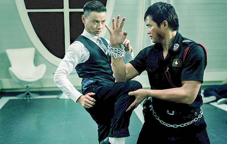 Max faces off with Tony Jaa in SPL 2!