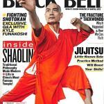 Shifu Yan Ming on the cover of Black Belt Magazine