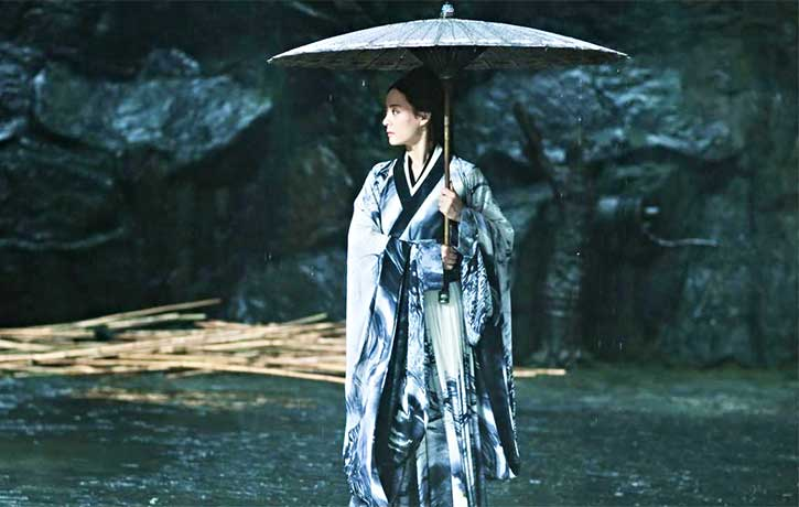 Betty Sun Li plays Xiao Ai, wife of Ziyu