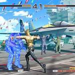 Benimaru Nikaido adds some shock to his punches