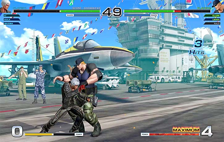 K subdues his opponent with a one-inch punch