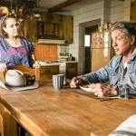 Rambo is uneasy about Gabrielle's efforts to reconnect with her father