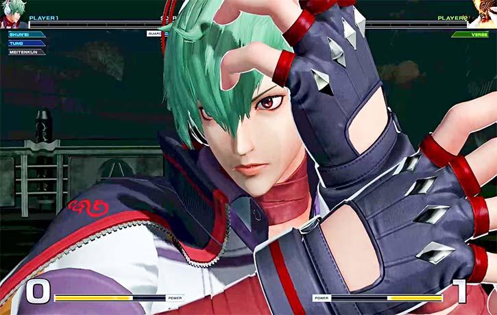 Shun'Ei serves as the game's new protagonist