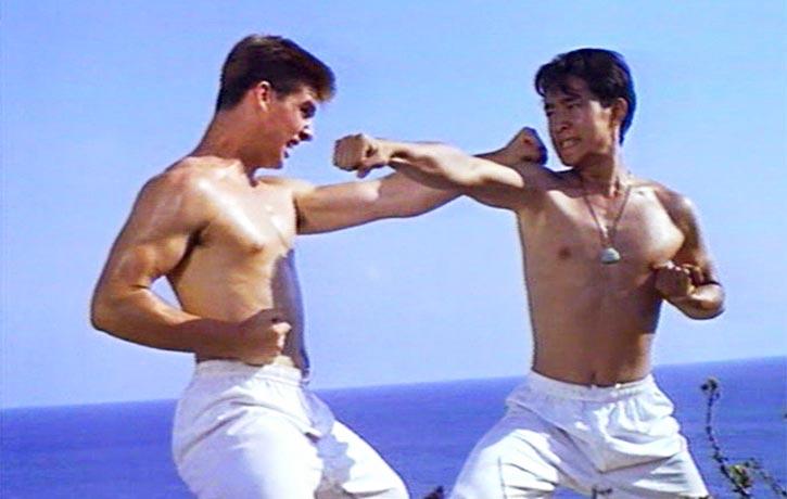 Charlie and Tony sharpen their striking skills