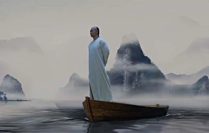 Wong Fei-hung receives a vision