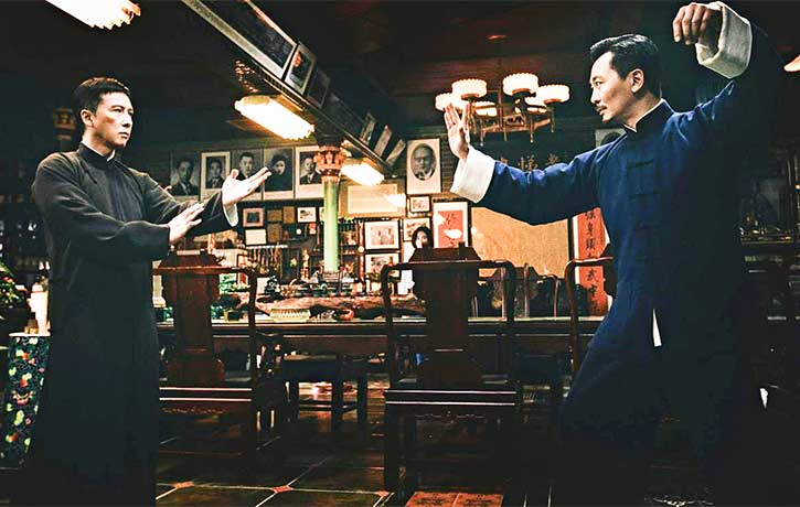 Ip Man stands his ground against Master Wan