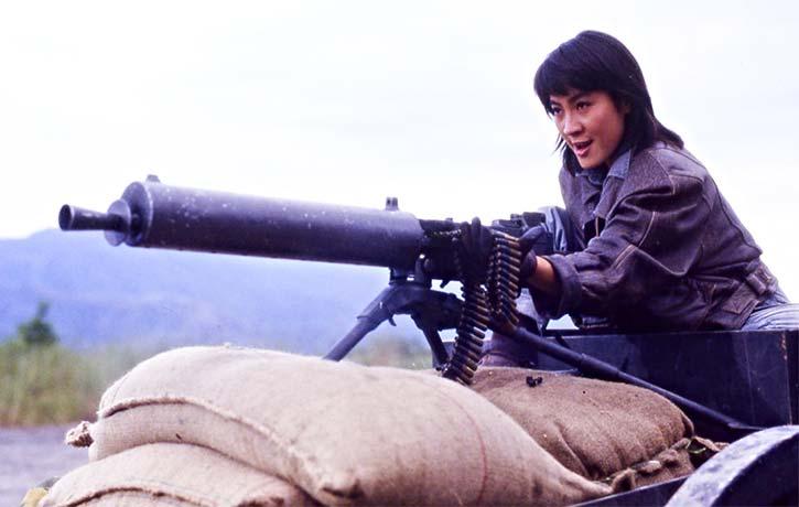Michelle Yeoh channels her inner Indiana Jones