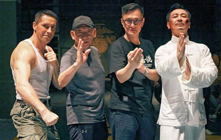 Scott Adkins with Yuen Woo Ping, Wilson Yip & co