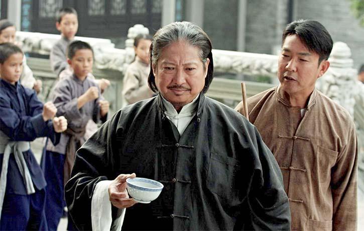 Action legend Sammo Hung as Master Chan Wah-shun