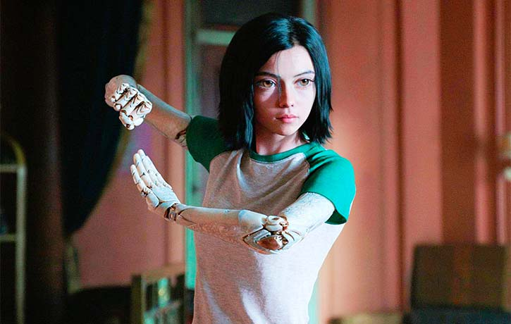 Alita Battle Angel practices the martial art form Panzer Kunst