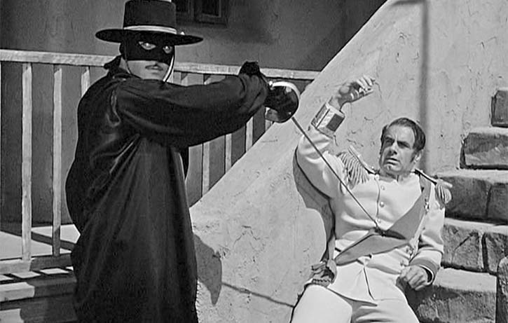 Classic action from 1920's Zorro