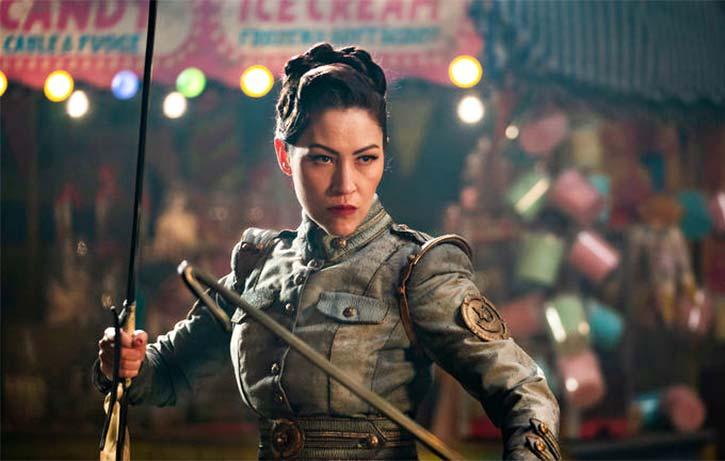 Eugenia Yuan is kung fu legend Cheng Pei Pei's daughter