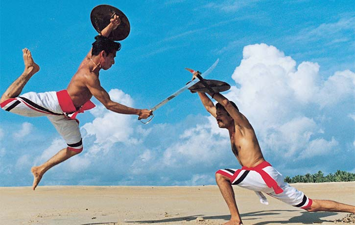 Kalaripayattu action from India still going strong!
