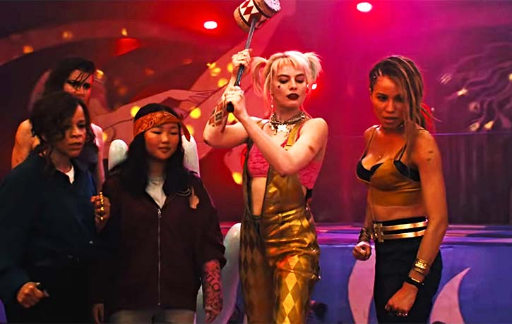 Hammer time with Harley Quinn