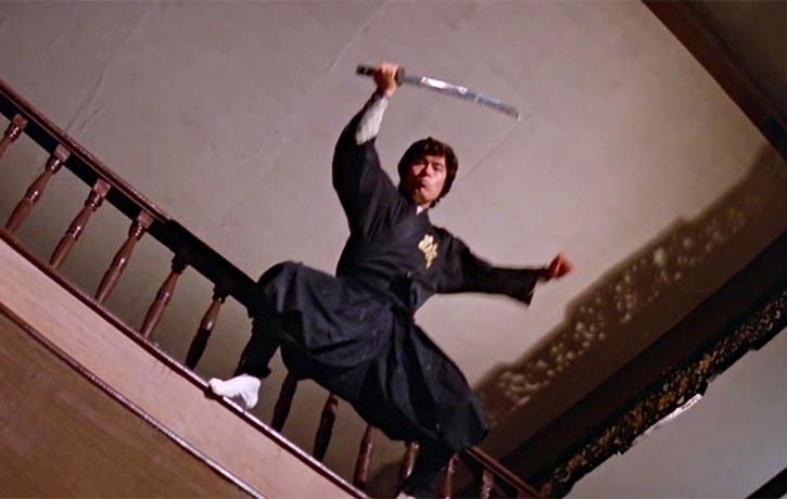 Here comes the ninja