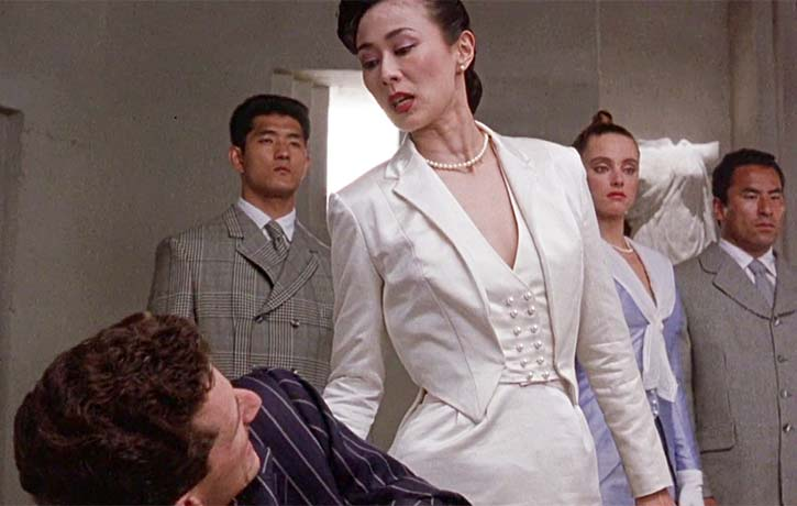 Lady Tanaka is not somebody to mess with
