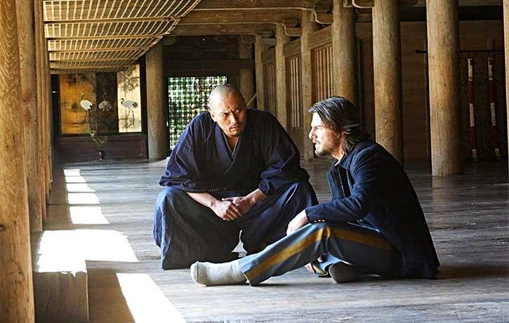 Katsumoto gives Algren some sage advice