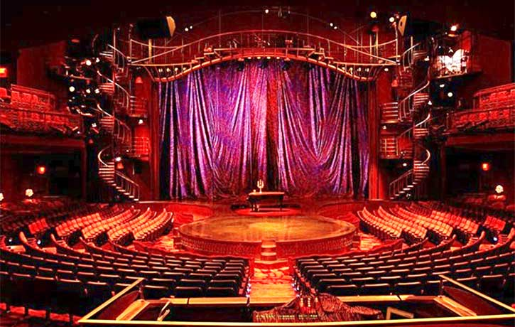 Performing the Cirque du Soleil Zumanity show